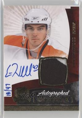 2010-11 Upper Deck The Cup - [Base] - Gold Rainbow #155 - Autographed Rookies Patch Level 1 - Eric Wellwood /47