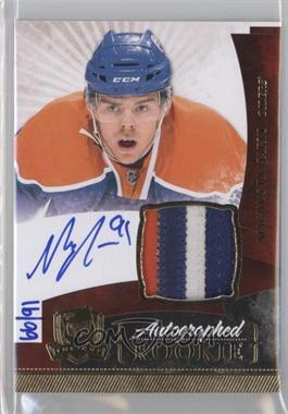 2010-11 Upper Deck The Cup - [Base] - Gold Rainbow #172 - Autographed Rookies Patch Level 1 - Magnus Paajarvi /91