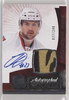 Rookie Patch Autograph - Kaspars Daugavins #/249