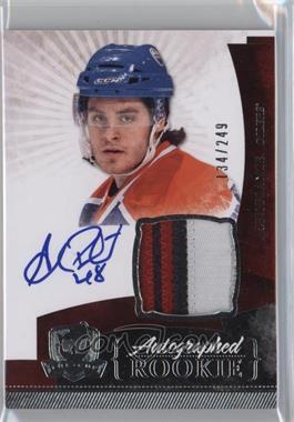 2010-11 Upper Deck The Cup - [Base] #142 - Rookie Patch Autograph - Alex Plante /249