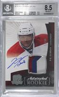 Rookie Patch Autograph - P.K. Subban [BGS 8.5 NM‑MT+] #/99