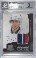 Rookie Patch Autograph - Jordan Eberle [BGS 9 MINT] #/99