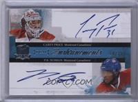 Carey Price, P.K. Subban #/35
