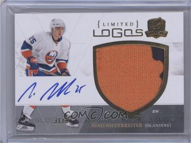 2010-11 Upper Deck The Cup - Limited Logos Autographs - [Autographed] #LL-NN - Nino Niederreiter /50