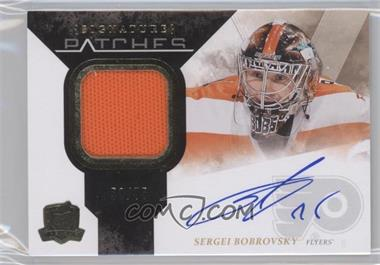 2010-11 Upper Deck The Cup - Signature Patches - [Autographed] #SP-BB - Sergei Bobrovsky /75