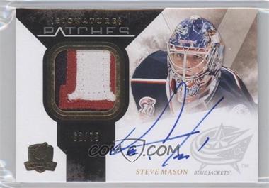 2010-11 Upper Deck The Cup - Signature Patches - [Autographed] #SP-SM - Steve Mason /75