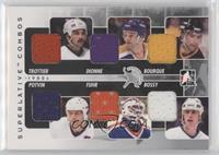 Bryan Trottier, Marcel Dionne, Ray Bourque, Grant Fuhr, Mike Bossy, Denis Potvi…
