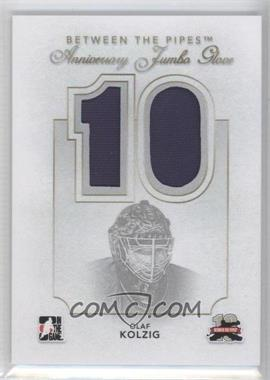 2011-12 In the Game Between the Pipes - Anniversary Jumbo Glove #AJG-20 - Olaf Kolzig /10
