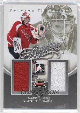 2011-12 In the Game Between the Pipes - Aspire - Silver #AS-18 - Mike Smith, Mark Visentin /140