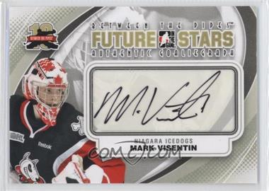 2011-12 In the Game Between the Pipes - Authentic Goaliegraph #A-MVI - Future Stars - Mark Visentin