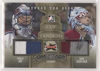 Patrick Roy, David Aebischer #/10