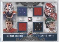 Grant Fuhr, Patrick Roy, Mike Vernon, Don Beaupre /50