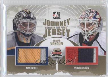 2011-12 In the Game Between the Pipes - Journey Jersey - Gold #JJ-09 - Tomas Vokoun /10
