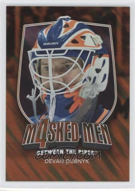 2011-12 In the Game Between the Pipes - Masked Men 4 - Gold #MM-15 - Devan Dubnyk /10