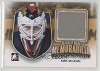 Kirk McLean [Noted] #/10