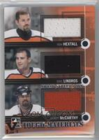 Ron Hextall, Eric Lindros, Sandy McCarthy /1