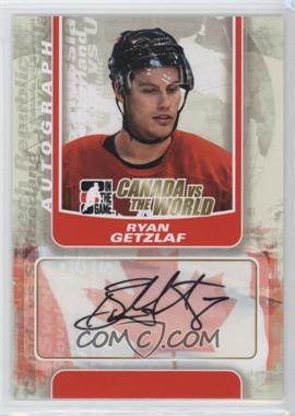 2011-12 In the Game Canada VS the World - Autographs #A-RG - Ryan Getzlaf