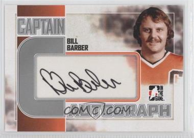 2011-12 In the Game Captain-C Series - Autograph - Silver #A-BB - Bill Barber