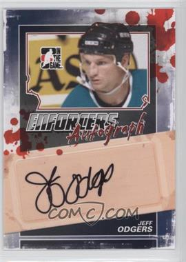2011-12 In the Game Enforcers - Autographs #A-JO - Jeff Odgers