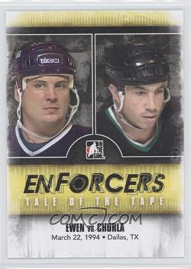 2011-12 In the Game Enforcers - [Base] #43 - Todd Ewen, Shane Churla