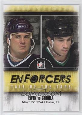 2011-12 In the Game Enforcers - [Base] #43 - Todd Ewen, Shane Churla