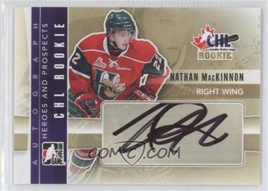 2011-12 In the Game Heroes and Prospects - Autographs #A-NM - Nathan MacKinnon