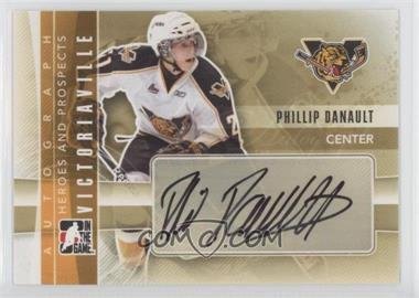 2011-12 In the Game Heroes and Prospects - Autographs #A-PD - Phillip Danault
