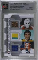 Bernie Parent, Gilles Meloche, Billy Smith [Uncirculated] #24/24