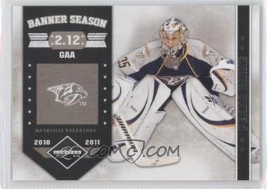 2011-12 Limited - Banner Season #12 - Pekka Rinne /299
