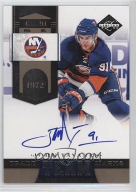 2011-12 Limited - Team Trademarks - Signatures [Autographed] #18 - John Tavares /99
