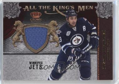 2011-12 Panini Crown Royale - All the King's Men Memorabilia #21 - Dustin Byfuglien