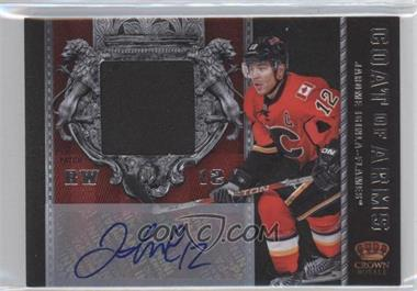 2011-12 Panini Crown Royale - Coat of Arms Patches - Signatures [Autographed] #7 - Jarome Iginla /10