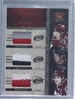 Ron Francis, Eric Staal, Jeff Skinner /50