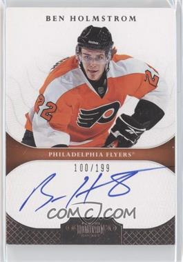 2011-12 Panini Dominion - [Base] #129 - Autographed Rookies - Ben Holmstrom /199