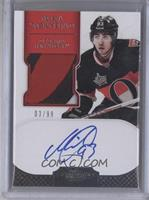 Autographed Rookie Patches Short Print - Mika Zibanejad #/99