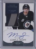 Autographed Rookie Patches Short Print - Mark Scheifele #/99