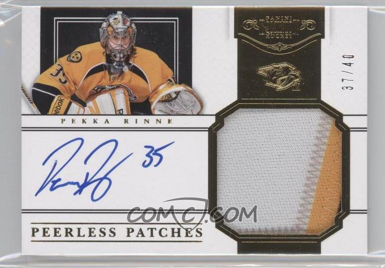 new concept 4a44d e1638 2011-12 Panini Dominion - Peerless Patches Autographs #54 ...