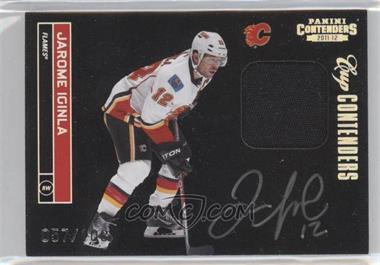 2011-12 Panini Playoff Contenders - [Base] - Cup Contenders Patches Signatures [Autographed] [Memorabilia] #107 - Jarome Iginla /100