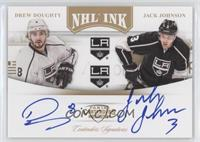 Drew Doughty, Jack Johnson #/25