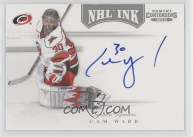 2011-12 Panini Playoff Contenders - NHL Ink #8 - Cam Ward
