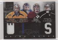 Jonathan Quick, Henrik Lundqvist, Mike Smith, Pekka Rinne #/75