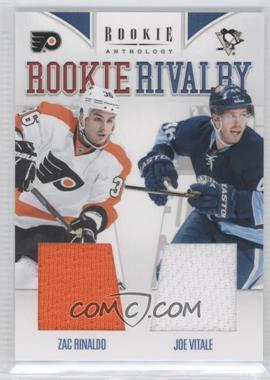 2011-12 Panini Rookie Anthology - Rookie Rivalry Materials #16 - Joe Vitale, Zac Rinaldo