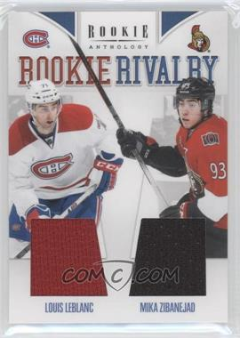 2011-12 Panini Rookie Anthology - Rookie Rivalry Materials #54 - Louis Leblanc, Mika Zibanejad