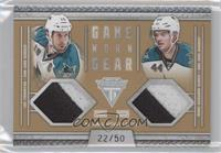 Marc-Edouard Vlasic, Joe Thornton /50