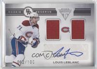Louis Leblanc /100