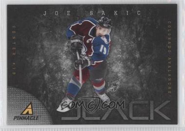 2011-12 Pinnacle - Black #10 - Joe Sakic