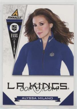 2011-12 Pinnacle - Fans of the Game #7 - Alyssa Milano