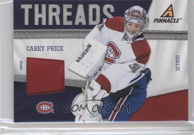 2011-12 Pinnacle - Threads - Patches #81 - Carey Price /25