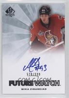 Autographed Future Watch - Mika Zibanejad #/999