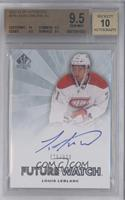 Autographed Future Watch - Louis Leblanc /999 [BGS 9.5]